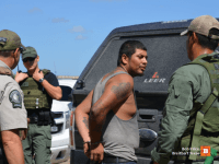 Previously deported Felon - Brooks County