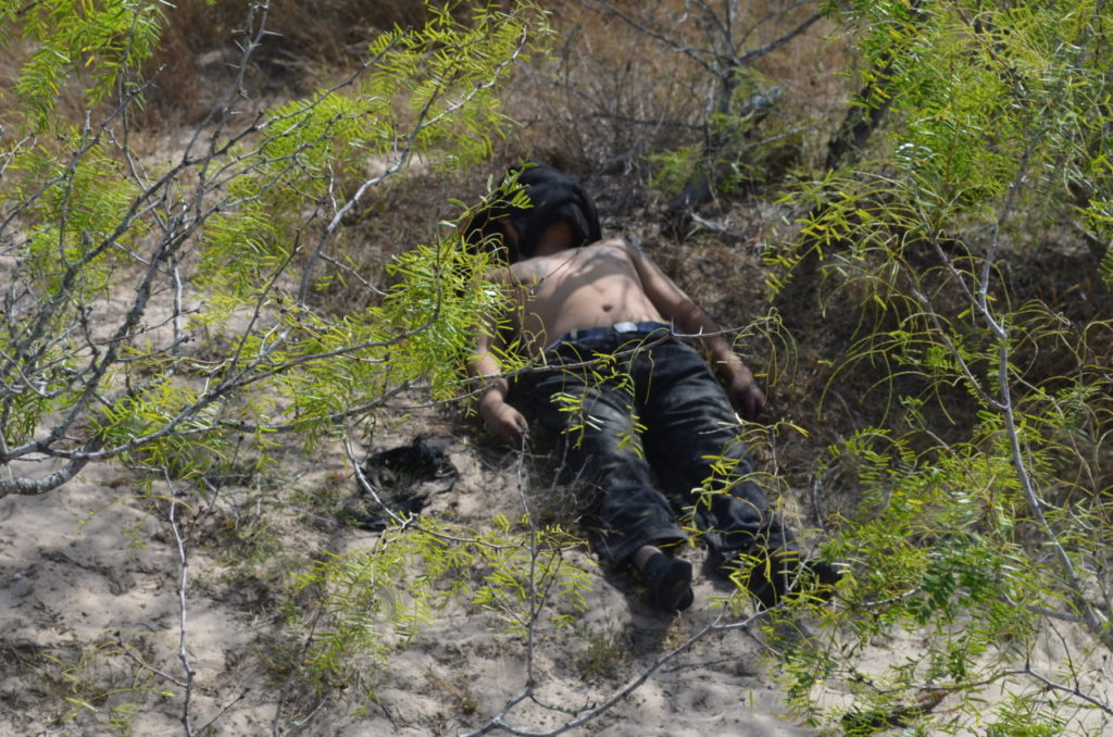 Mexican male found dead on human smuggling trail through Texas ranch by Border Patrol BORSTAR scouting team. (Photo: Breitbart Texas/Bob Price)