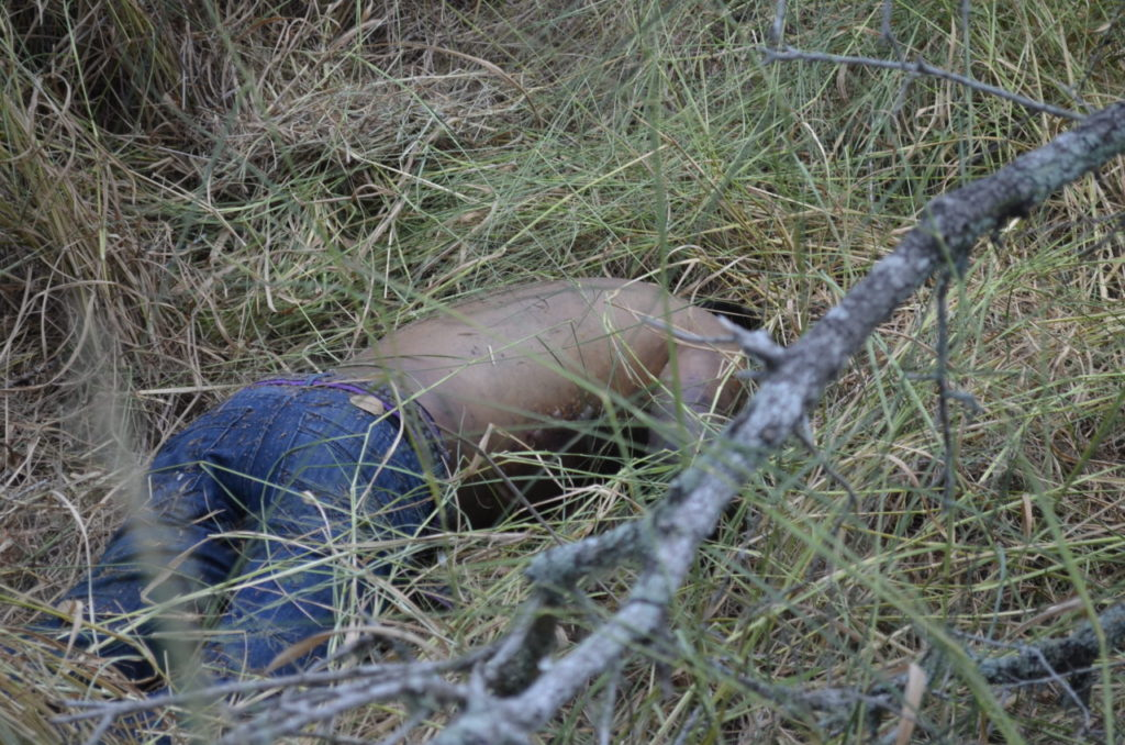 Deceased illegal alien found dead by Border Patrol BORSTAR teams. (Photo: Breitbart Texas/Bob Price)