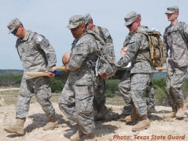 Texas State Guard Rescue