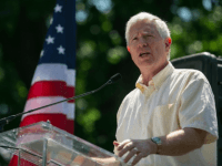 Rep. Mo Brooks (R-AL) speaks during the DC March for Jobs in Upper Senate Park near Capitol Hill, on July 15, 2013 in Washington, DC. Conservative activists and supporters rallied against the Senate's immigration legislation and the impact illegal immigration has on reduced wages and employment opportunities for some Americans. …