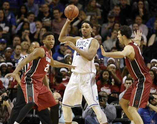 Jahlil Okafor, Anthony Brown, Stefan Nastic