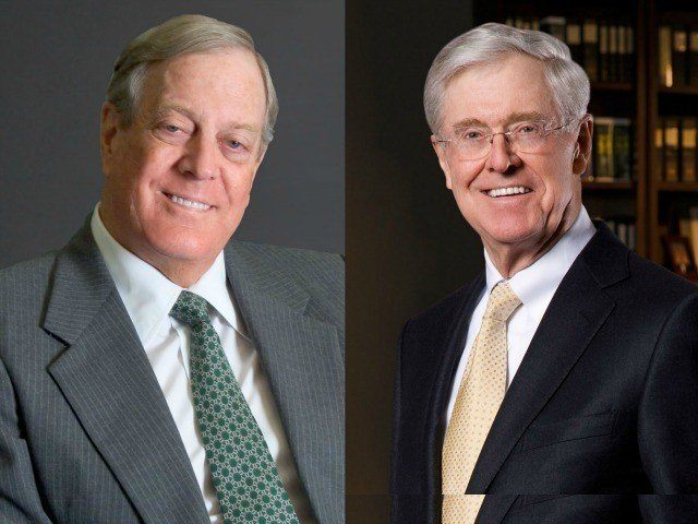 billionaire koch brothers throw weight behind latest On koch brothers