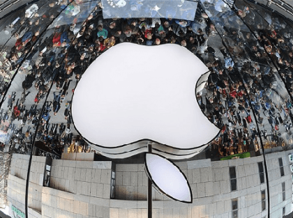 Apple-Upside-Down