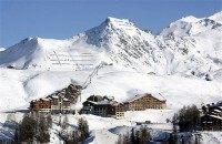 Ski slopes in the Alps. AP Photo/Patrick Gardin