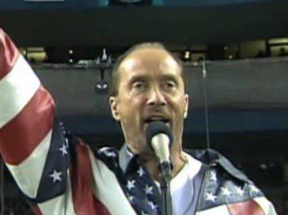 Lee Greenwood Screen Grab 2001 World Series