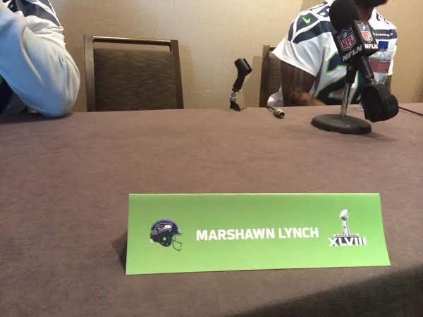 Marshawn Lynch Super Bowl (Dan Flynn Photo)