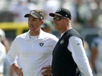 Rex Ryan and Dennis Allen Photo by Alan Schaefer