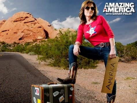 Sara Palin Amazing America Graphic
