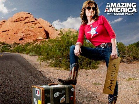 Sara Palin Amazing America Graphic
