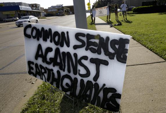 Anti-Fracking Sign