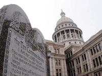Ten Commandments Monument Texas Capitol
