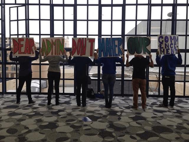 Bill Maher protest (Adelle Nazarian / Breitbart News)
