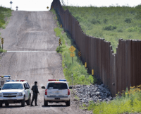 Border Fence and Border Patrol Agents