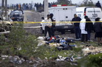 Mexican Cartel Dead Bodies