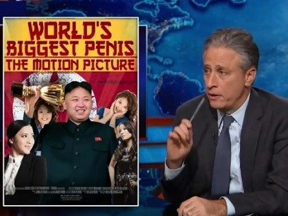 Jon Stewart on 'The Interview'