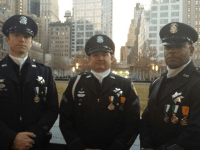 "Vallejo Police Department delegation to funerals of NYPD officers Rafael ""Ralph"" Ramos and Wenjian Liu (Facebook)"
