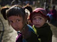 Tribal Children in Tinsuti District, India