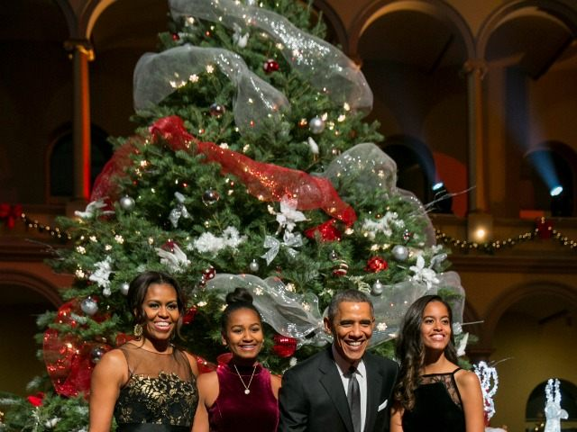 americans received a special christmas present from the white house a two for one package barack obamas weekly message also featured a message from his