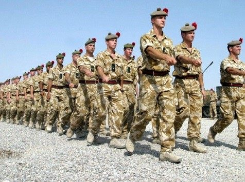 British soliders in Iraq