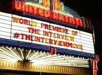 the interview theater marquee