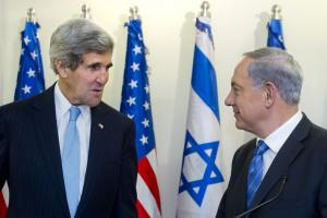Kerry, Netanyahu expected to discuss proposed U.N. Securtiy Council resolution on Mideast peace timeline