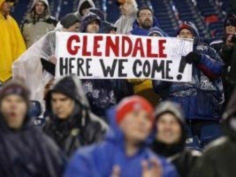 AFC Championship Game Glendale Banner UPI