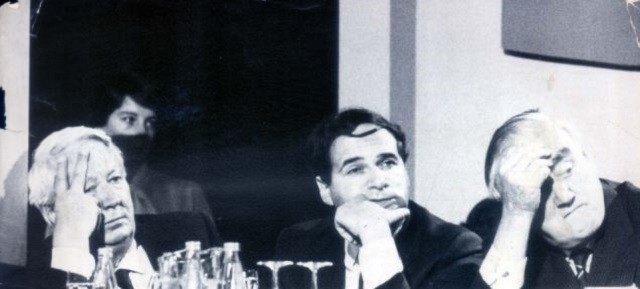 Alleged paedophile PM Ted Heath with alleged paedophile minister Leon Brittan