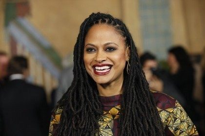 "Director and executive producer Ava DuVernay poses at a screening of the film ""Selma"" during AFI Fest 2014 in Hollywood"
