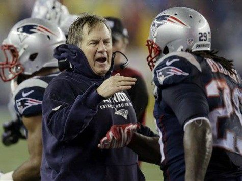 Belichick Blount Photo by Charles Krupa AP