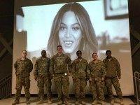 Beyonce-troops