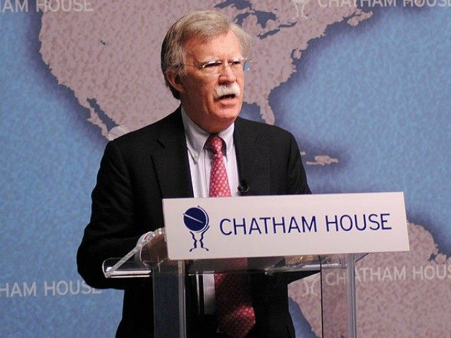 File Photo of Amb. John Bolton speaking at Chatham House