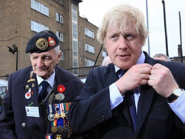 Boris Johnson Veteran Reuters London