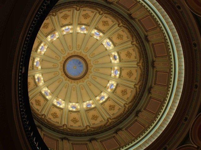 Capitol Dome, Sacramento (Joel Pollak / Breitbart News)