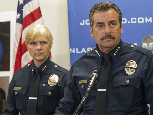Chief Beck, LAPD (Damain Dovarganes / Associated Press)