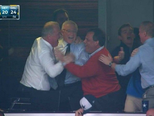 Chris Christie Cowboys