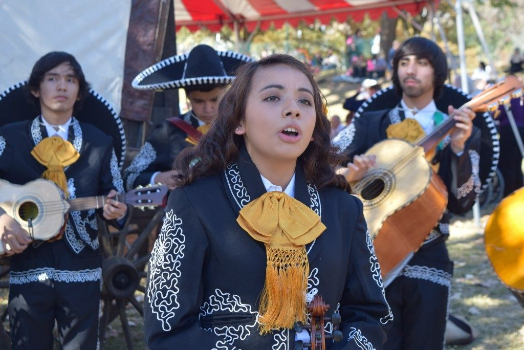 Mariachi Band at Inauguration Barbecue - Photo by Lana Shadwick
