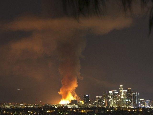 Da Vinci Fire (Nancy Yuille / Associated Press)