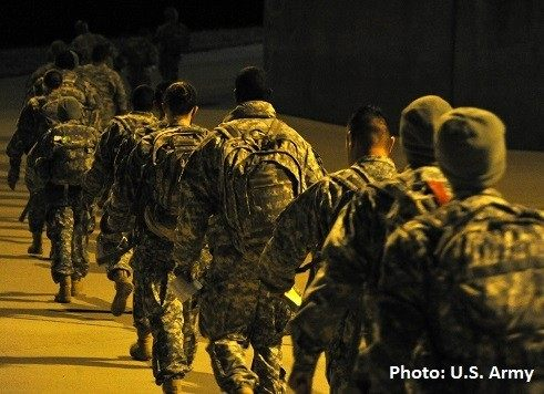Fort Hood Soldiers Return Home