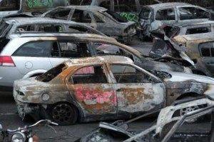 Frederick Florin AFP Strasbourg Car Fire