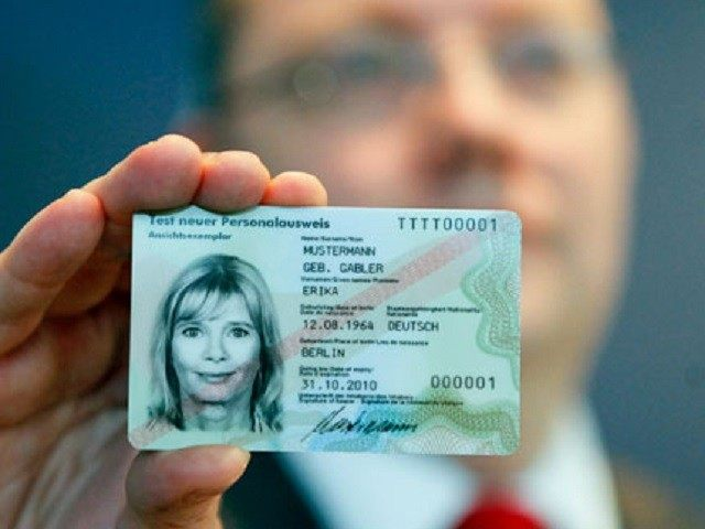 Germany Breitbart 'jihadi Identity Proposes Card'