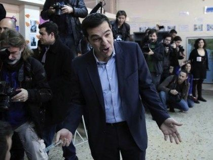 Leftist Alexis Tsipras wins Greek elections for SYRIZA