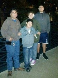 Javier Rivera and Family