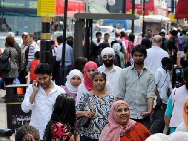 Diverse, vibrant London. REUTERS