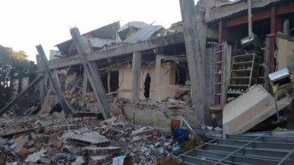 Mexico City Explosion - Borough chief Adrian Rubalcava