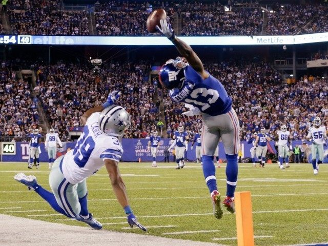 Odell Beckham Catch AP