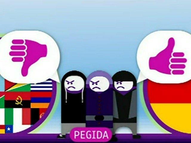 PEGIDA-Propaganda