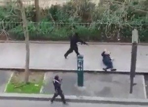 Gunmen Shoot French Police Officer