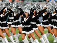 Raiders Cheerleaders (Ric Tapia / Associated Press)