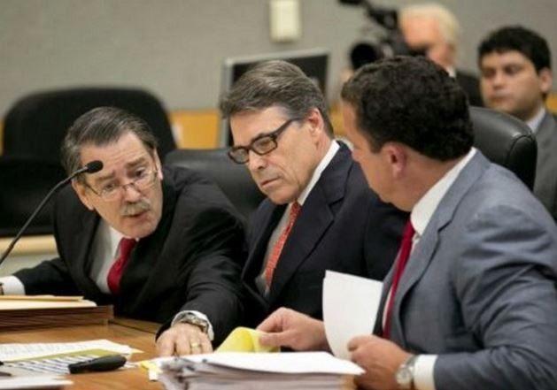 Rick Perry Legal Team - AP Photo Jay Janner